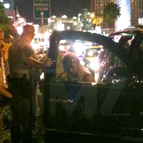Paris Hilton Arrested -- Photos and Video.jpg