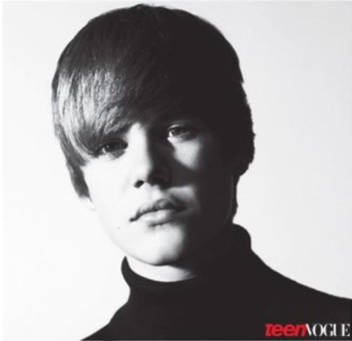 Justin Bieber Teen Vogue Magazine October 2010