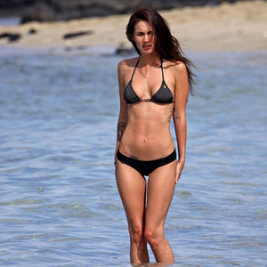 Megan Fox In A Bikini In Hawaii