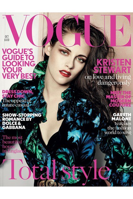 Kristen Stewart reveals why she struggles with fame -  Vogue UK  October 2012.jpg