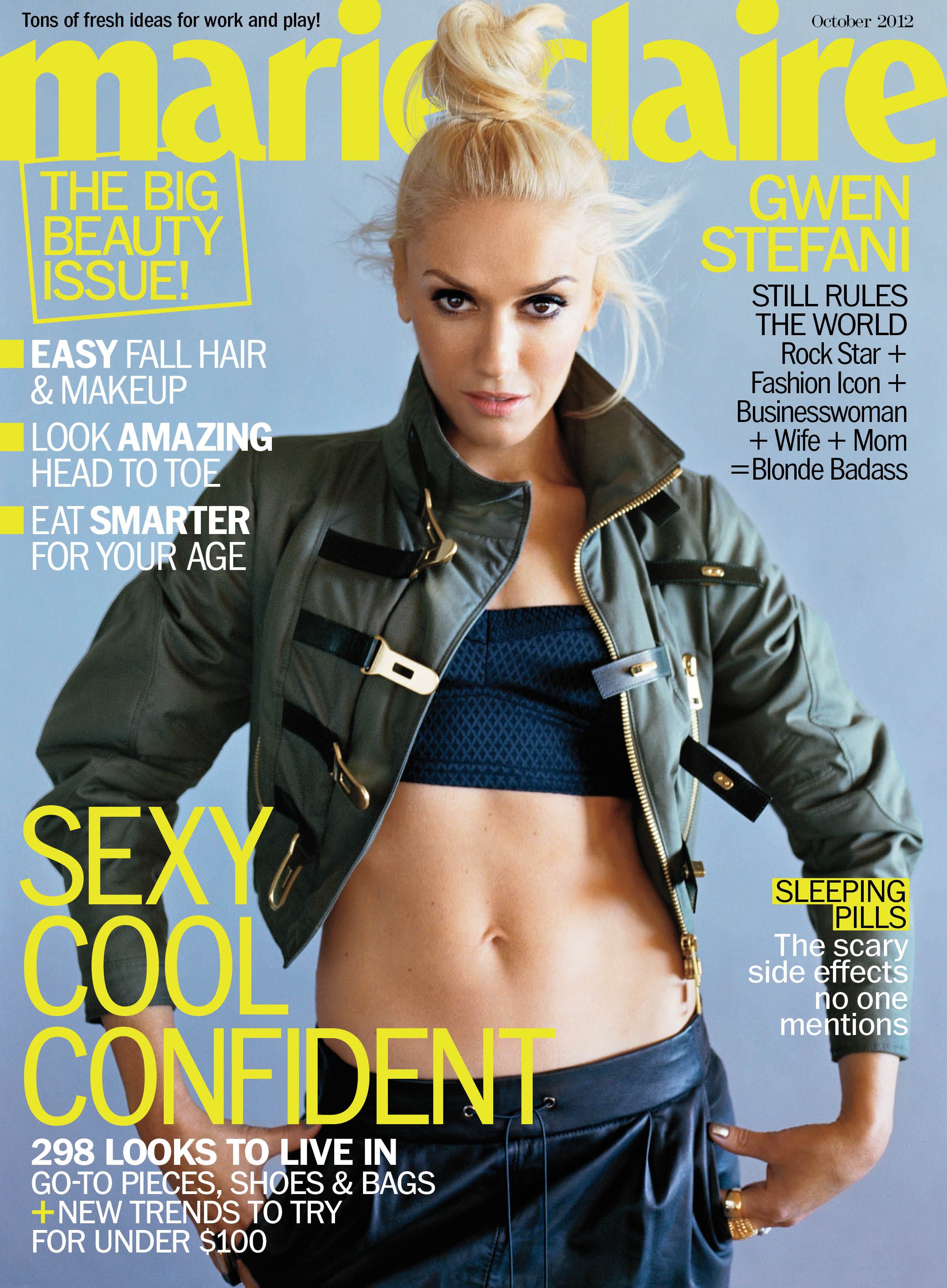 Gwen Stefani talks love - Marie Claire October 2012.jpg