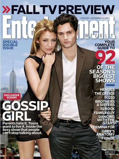 Leighton Meester and Blake Lively both grace the cover of Entertainment